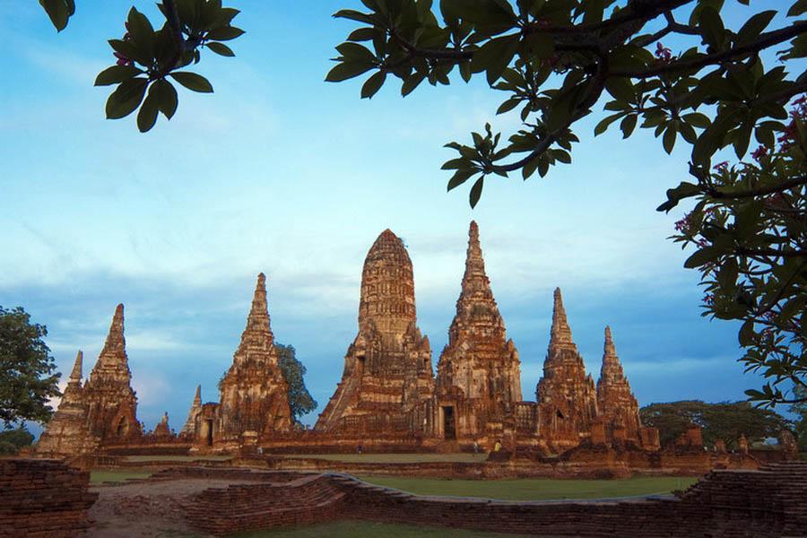 a-thailande-ayutthaya-wat-chai-watthanaram-5-go