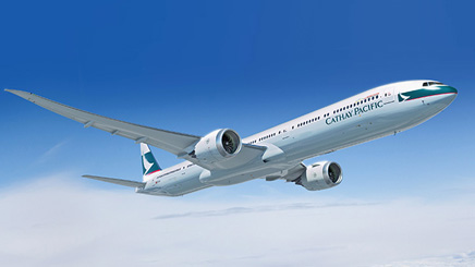 Avion compagnie Cathay Pacific
