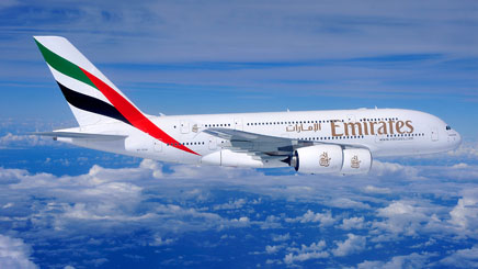 Avion compagnie Emirates