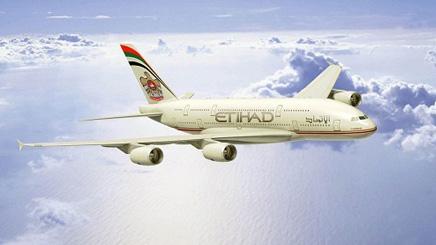 Avion compagnie Etihad