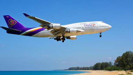 Avion compagnie Thai Airways