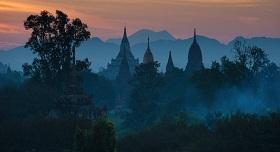 Pagode Bagan Birmanie