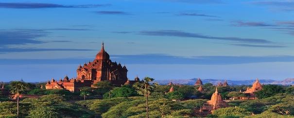 Bagan Pagode Birmanie