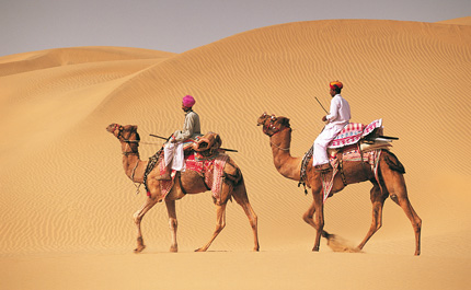 Balade-dromadaire-Jaisalmer-Inde