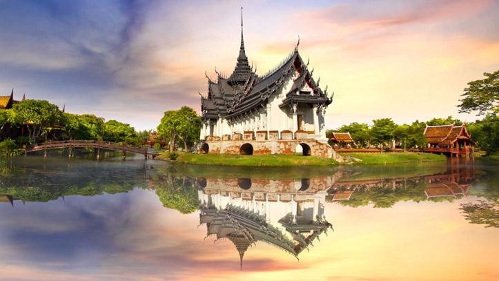 Bangkok Sanphet Prasat Palace