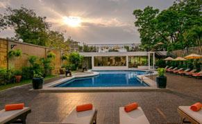 Hotel Bayiew à Pattaya, Thailande