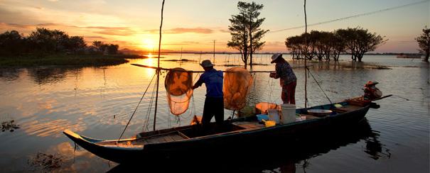 Cambodge-Chaudoc-Mékong-pêcheurs