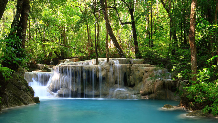 Cascade à Erawan