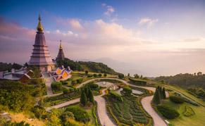 Chiang Mai jardin Doi Inthanon