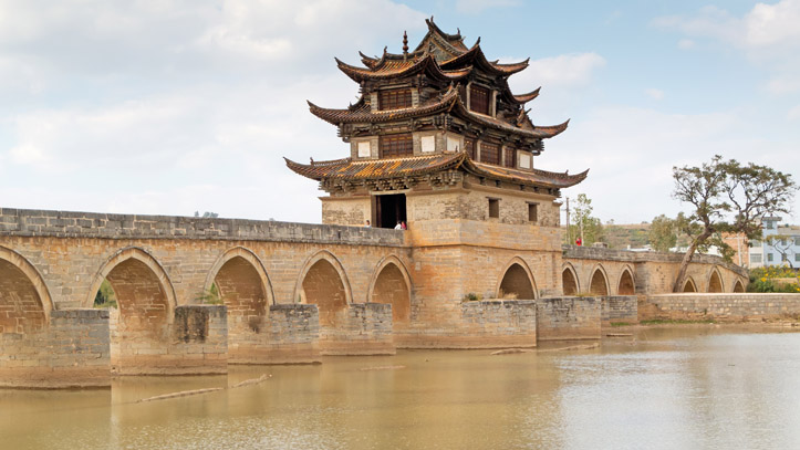 Chine Jianshui Pont