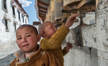 Cite monastere tibet