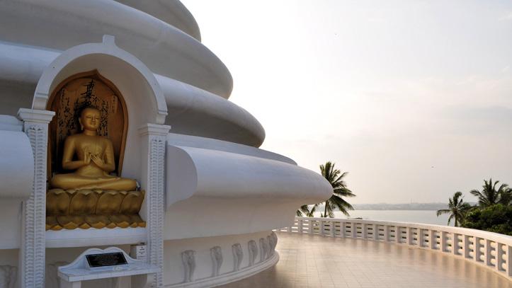 Galle-Rumassala-pagode