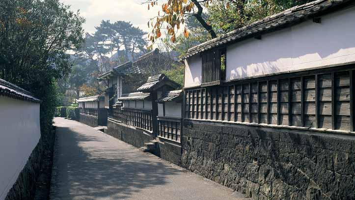 Ancien quartier Horiuchi à Hagi