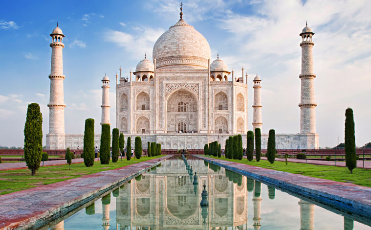 Inde-Agra-Taj-Mahal