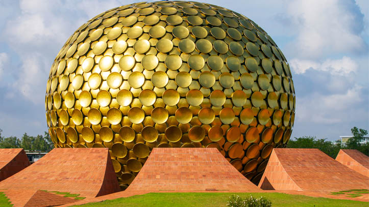 Temple d'Or Auroville
