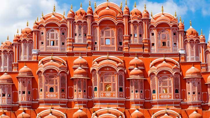Inde-Jaipur-Hawa-Mahal-Palace
