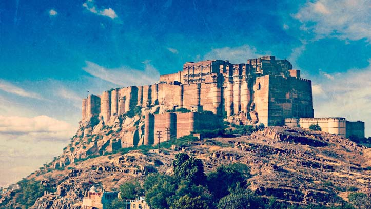 Inde-Jodhpur-fort-Mehrangarh