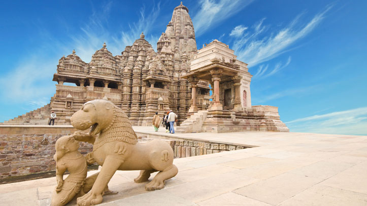 Temple Khajuraho Inde