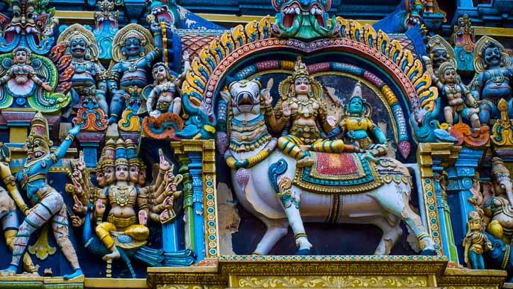 Temple Hindou Madurai