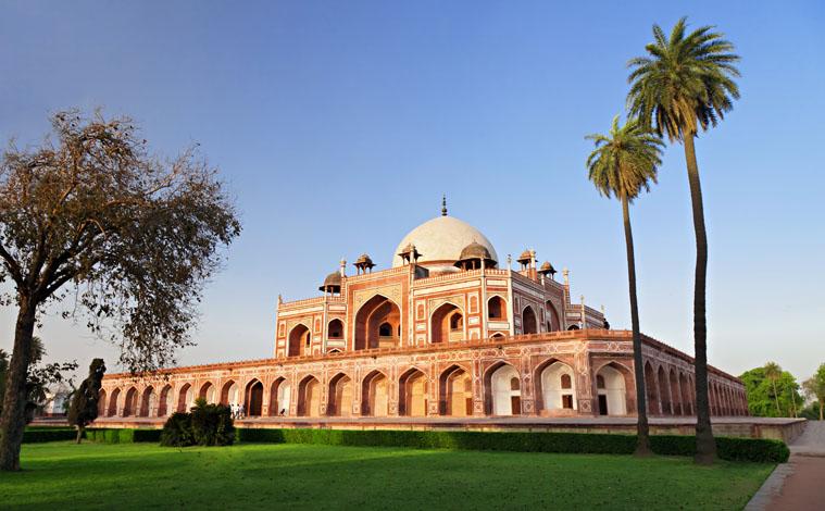 Inde-New-Delhi-Humayun-Tomb