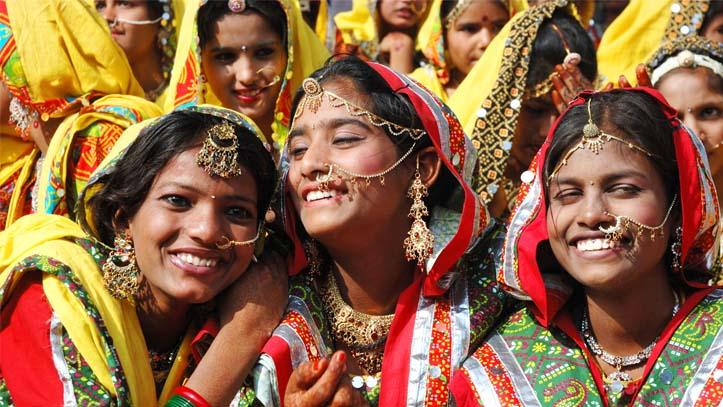Femme indienne Rajasthan
