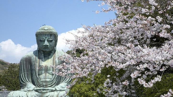 Grand Bouddha du temple Hasedera à Kamakura