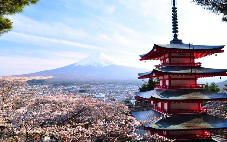 Kawaguchiko-cerisiers-pagode-Fuji-upload