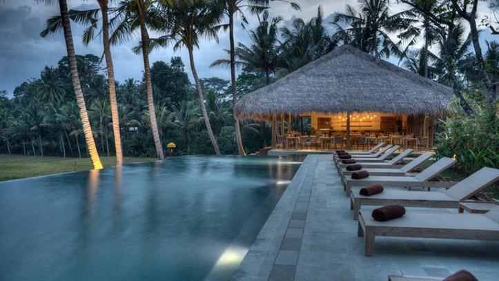 Kenanga ubud hotel piscine liste