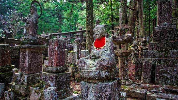 Cimetière Okunoin de Koyasan