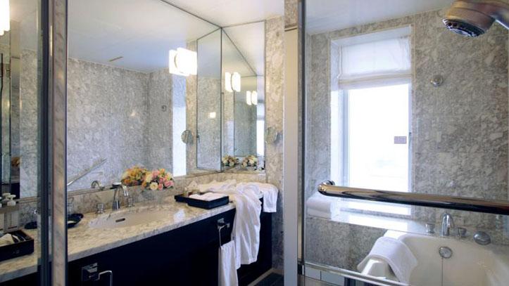 Salle de bain au Granvia Kyoto