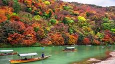 Kyoto-Rivière-Hozu-Arashiyama