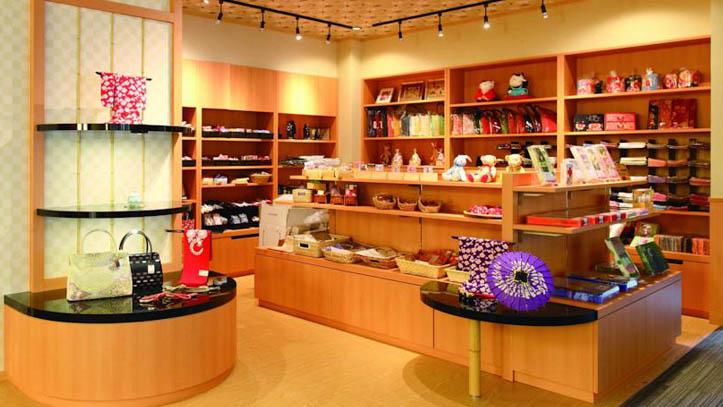 Boutique du ryokan Matsui Honkan