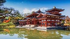 Temple Byodoin à Uji au sud de Kyoto