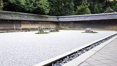 Jardin du temple Ryoanji à Kyoto