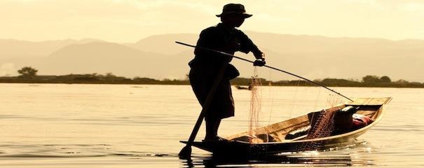 Pecheur Birmanie