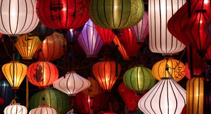 Lanternes vietnamiennes de Hoi An