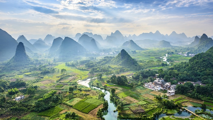 li river karst mountains yangshuo guilin