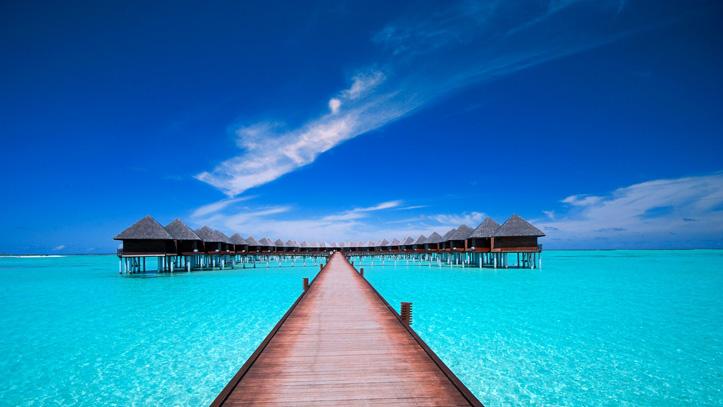 Maldives-Hotel-Olhuveli-mer-piscine-paradis