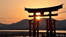 Miyajima-couché-de-soleil