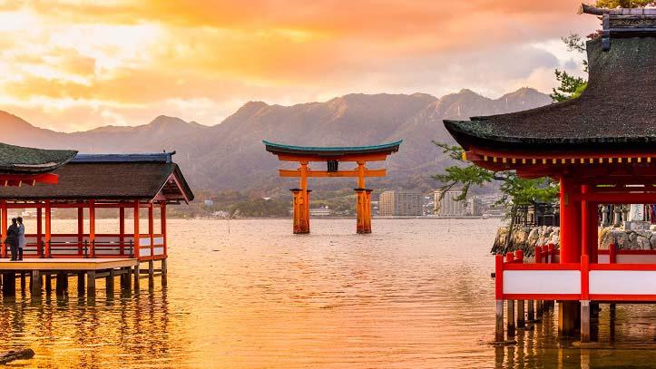 Temple Itsukushima Jinja de Miyajima