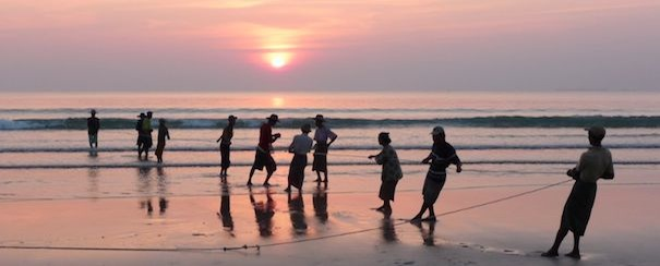 Plage Birmanie