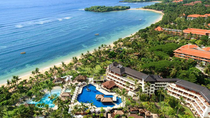 Nusa dua beach resort vue