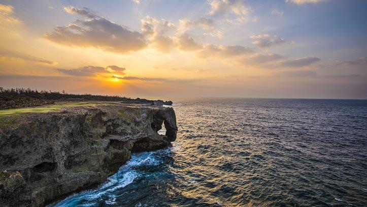 Cap Manzamo à Okinawa