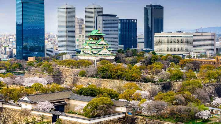 Parc du château d'Osaka