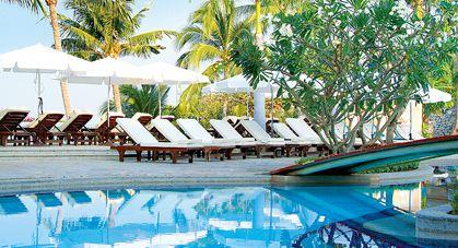 Piscine hôtel Dusit Thani