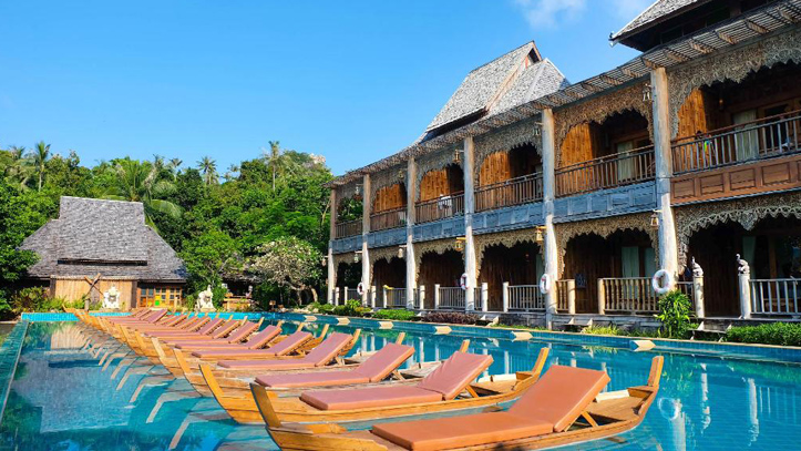santhita piscine privée