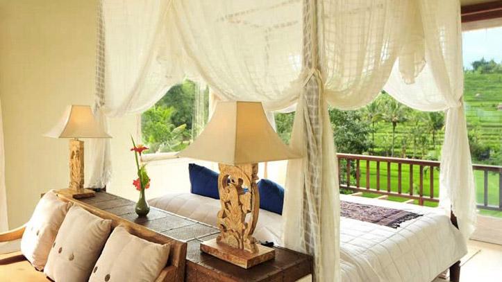 Surya Shanti Bali chambre