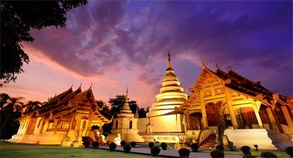 Chiang Mai, temple Phra Singh