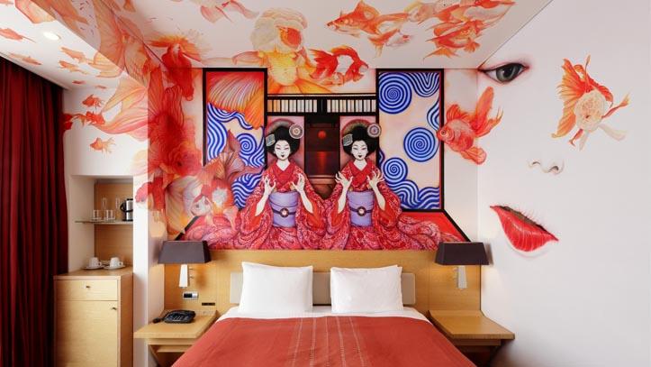 Chambre du Park Hotel 4* à Tokyo