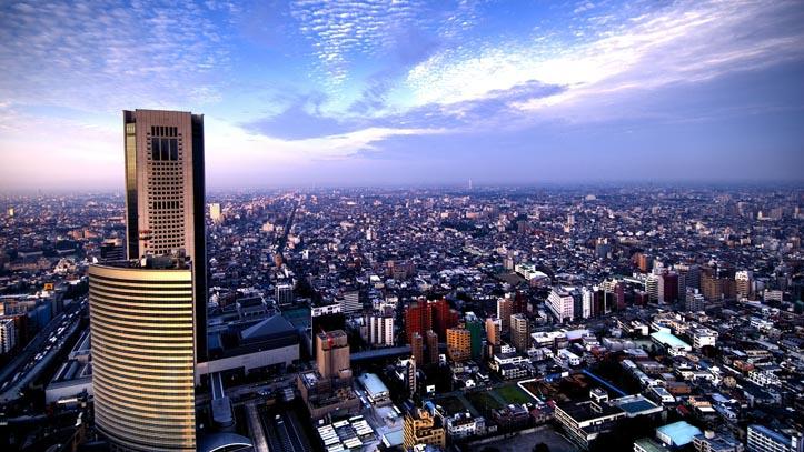 Vue du Park Hyatt 5* à Tokyo